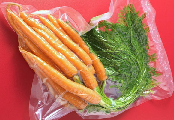 bolsas para empaque de vegetales